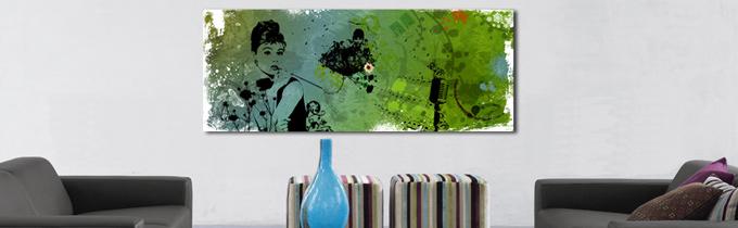 Store billeder på væg: Audreys Flower af Mads Hindhede